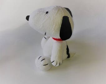 Snoopy Knitted Toy