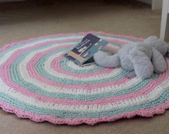 Crochet Rug / Nursery Rug