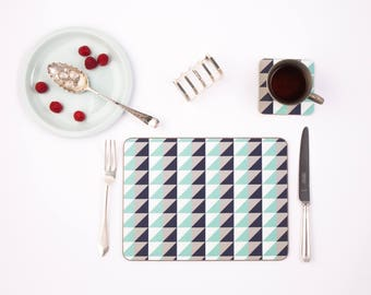 Pure Geometric Placemat set