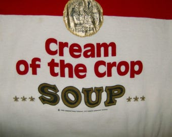 Warhol / Campbells Soup Shirt-USED Excellent condition Size XL Circa 1988