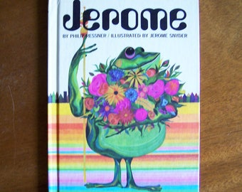 Jerome by Philip Ressner - Illustrated by Jerome Snyder - Parents Magazine Press 1967