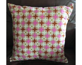 Pink Mid Century Design Pillow