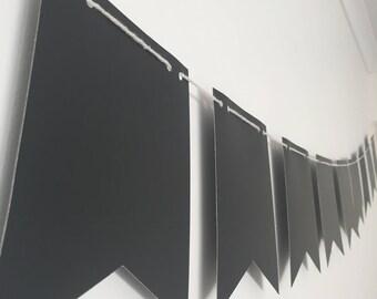 Blackboard Bunting