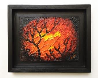 Sunset Trees - Original Painting