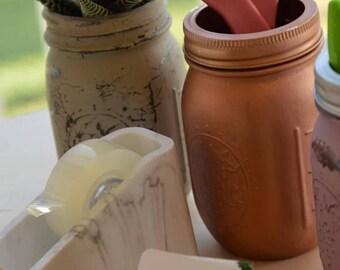Hand Made Custom Mason Jars,