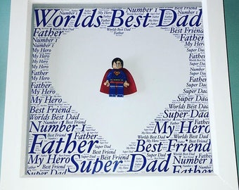 Father's Day Lego frame