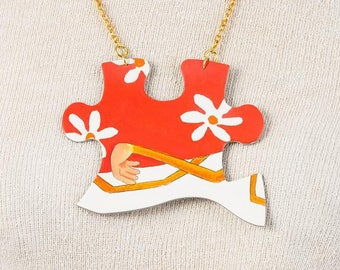 Puzzling Times - Jewelry Puzzle Necklace