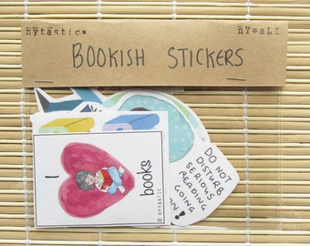 Bookish Stickers