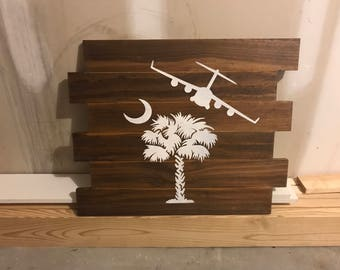 Customized wood decor