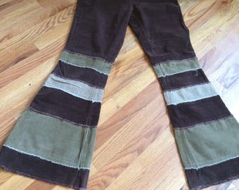 90s Rave Bell Pants