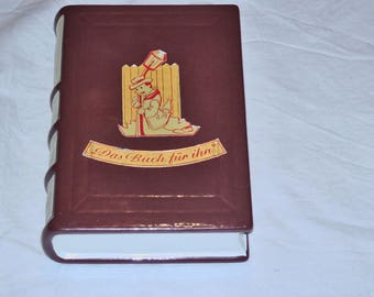 Rustic pottery book flask