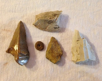 Great set of Authentic Artifacts-Set of 5!