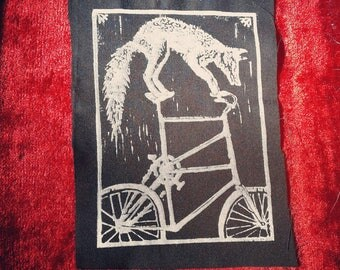 Tall Bike Fox Patch