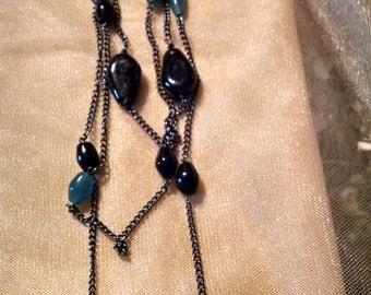 Heavy duty Multi-strand necklace