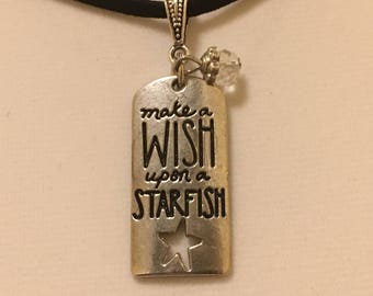 Wish Upon A Starfish Pendant Necklace