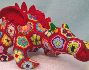 Crochet handmade Dragon