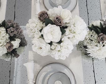 Real Touch Floral Arrangement-Mixed (LG)