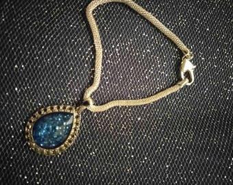 Blue Sparkle Stone Bracelet