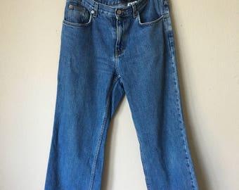 Calvin Klein Stone Wash Denim Boyfriend Jeans Size 8