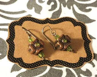 Dogwood Blossom Earrings