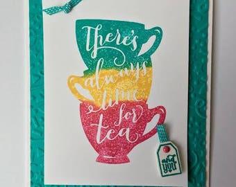 Tea Time Friendship Card