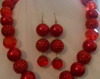 Cherry Red Set