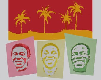 Toots and the Maytals Pop Art Painting