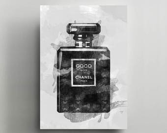 Canvas Wall Art, Gallery Wrapped, Interior Decoration, Modern Art  - Chanel 'Coco's Scent'.