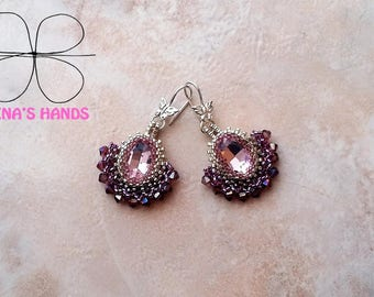 Earrings Pink Panther