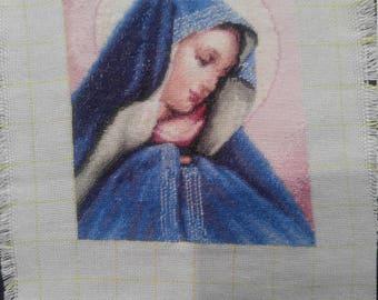 Gobelin tapestry Madonna Dolorosa