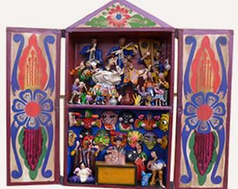 Retablo Andes Folk Art
