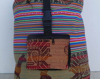 Acrylic Andes Backpack