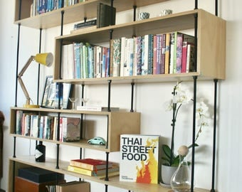 Hoop Pine Plywood Bookshelf