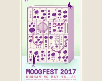 Moogfest Tribute Poster