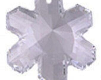 Swarovski Crystal Snowflake, Article #6707, 20mm