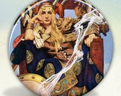 Celtic Queen Maeve Pocket Mirror tartx