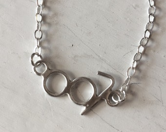 007 Bond Girl Sterling Silver Necklace