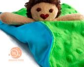 IndigoMuse My First Friend mini lovey - Custom listing for Anne B
