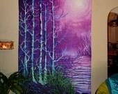 RW2 Tree Tapestry by Robert Walker purple