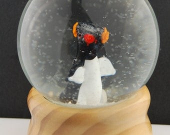 Penguin Snow Globe by Marcy Lamberson