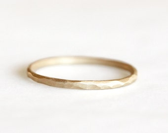 14k gold carved ring, eco friendly, wedding ring, rustic ring, handmade, recycled wedding ring