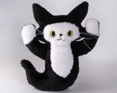 CUSTOM ORDER for greenbleeckerdream  - Mini Ghost Cat -