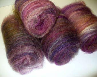 Non Wool Synthetic Batts for Hand Spinning Yarn