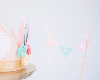 Brave Little One CAKE Bunting