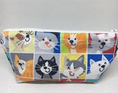Cat Cosmetic or Pencil Pouch