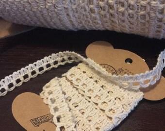Crochet Loop Trim 10 Yards
