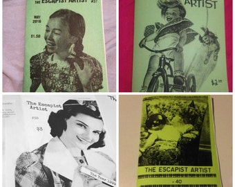The Escapist Artist ZINE PACK #EIGHT