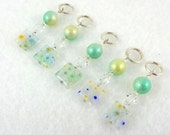 Spring Will Come Stitch Marker Set - Customizable for Knitting or Crochet