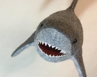 Great White Shark - Soft Sculpture