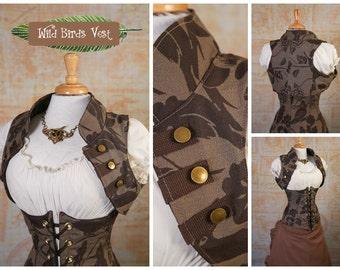 M - Wild Birds Vest